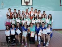 Районные соревнования по баскетболу среди команд девушек школ Чунского района