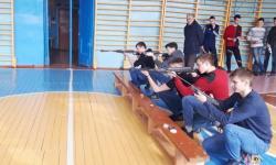 Районные соревнования по стрельбе из пневматической винтовки