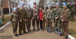 Районная военно-спортивная игра «Орлёнок»