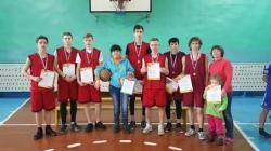 2 место в районных соревнованиях по баскетболу